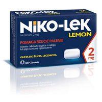 NIKO-LEK Lemon 2mg x 24 gumy do żucia