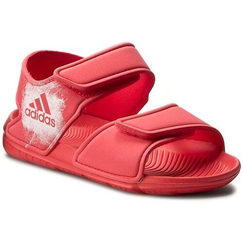 9ce39535871a3 Adidas Sandały adidas - AltaSwim C BA7849 Corpink/Ftwwht/Ftwwht, kolor  czerwony