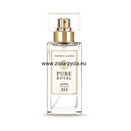 Federico mahora - fm group Perfumy pure royal damskie fm 355 - fm group