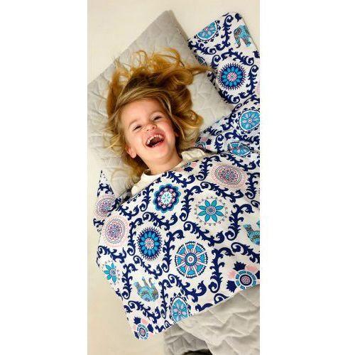 Śpiworek przedszkolaka india velvet wiosenno letni + worek marki Bubaland
