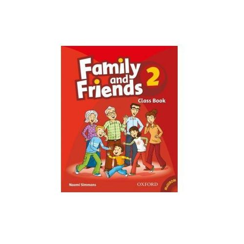 Family and friends 2. Class book (+ CD) (112 str.)
