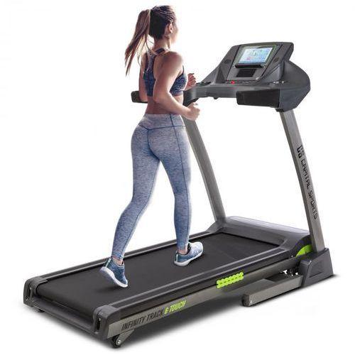 Capital Sports Infinity Track 6.0 Touch Bieżnia 5,5 KM Wi-Fi ekran dotykowy TFT o przekątnej 9 cali (4060656106774)