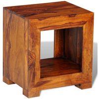 vidaXL Stolik boczny z litego drewna 137 x 29 40 cm