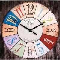 Zegar ścienny bistro by  marki Kare design