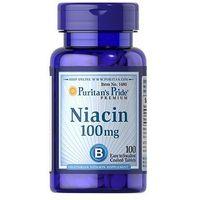 Tabletki Puritan's Pride Niacyna (Witamina B3) 100mg 100 tabl.