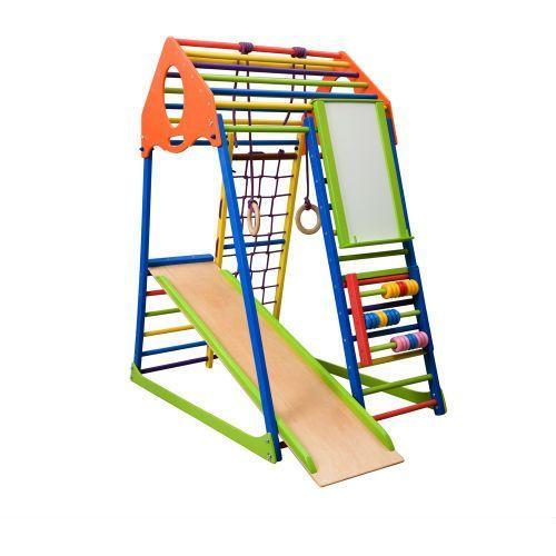 Insportline Wielofunkcyjny plac zabaw dla dzieci kindwood set plus (8596084058317)