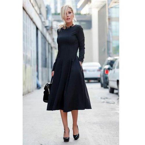 Sukienka JASMINA BLACK, kolor czarny