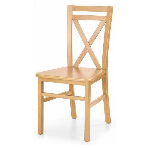 Krzesło Drewniane Dario Dąb Miodowy Producent Elior