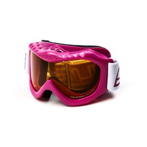 Salice Gogle narciarskie 601a fuchsia/crx yellow