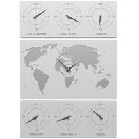 Zegar ścienny v-cosmo biały marki Calleadesign