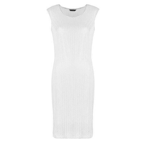 f9c29188f8 Vito vergelis Srebrno-biała sukienka (kolor  biały