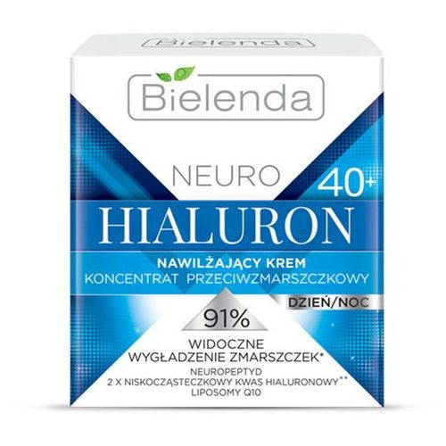 Bielenda Nawilżający krem przeciwzmarszczkowy 40+ neuro hialuron 50ml