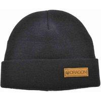 czapka zimowa DRAGON - Dr Basic Cuff Beanie Black (001)