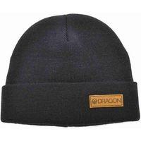 czapka zimowa DRAGON - Dr Basic Cuff Beanie Black (001) rozmiar: OS