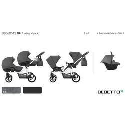Wózki spacerowe dla bliźniaków  BEBETTO BOBO RAJ