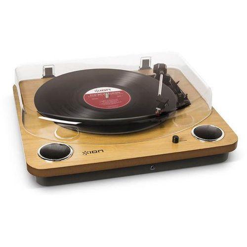 max lp drewno - uniwersalny gramofon z wbudowanymi głośnikami stereo | zapłać po 30 dniach | gwarancja 2-lata marki Ion