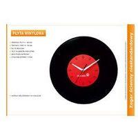 Zegar reklamowy płyta vinylowa, kolor Zegar