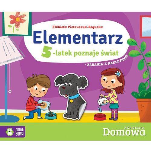 Elementarz 5-latek poznaje świat - Elżbieta Pietruczuk-Bogucka, oprawa broszurowa