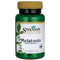 Kapsułki Swanson Melatonina 1mg 120 kaps.