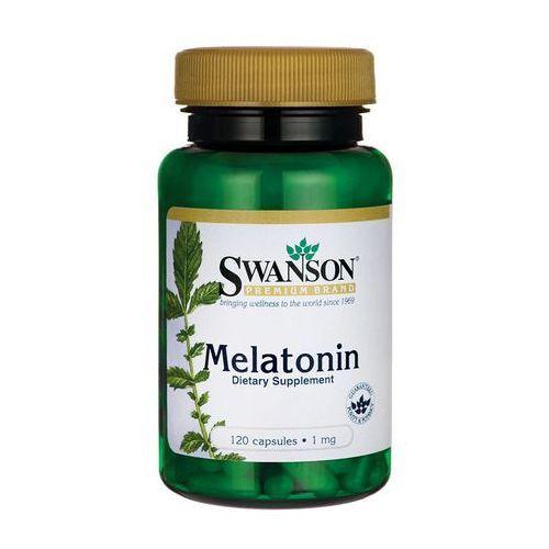 Kapsułki Swanson Melatonina 1mg 120 kaps