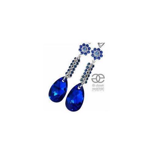 SWAROVSKI Kolczyki BLUE CRYSTALLIZED SREBRO 4536544993