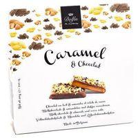 Dolfin the art of blending Bombonierka caramel & chocolat migdały z kawałkami kakao dolfin 200g (5413415912304)