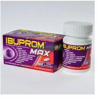 Tabletki Ibuprom MAX 400mg 48 tabletek