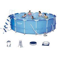 Bestway  basen okrągły z metalową ramą 457x122 cm 56438