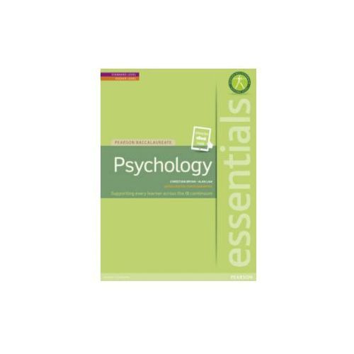 Pearson Baccalaureate Essentials: Psychology Print and Ebook Bundle, Pearson