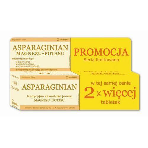Tabletki ASPARAGINIAN Magnez i Potas x 100 tabletek