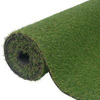 Vidaxl  sztuczna trawa 2x5 m/20-25 mm, zielona