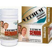 Tabletki VITRUM SENIOR Z likopenem x 30 tabletek