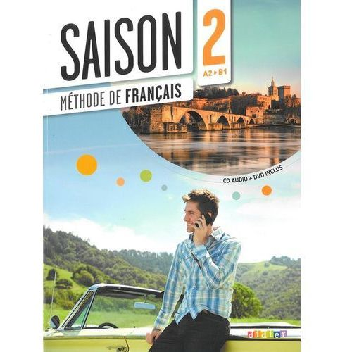 Saison 2 podręcznik + CD Audio + DVD poziom A2-B1 (9782278077533)