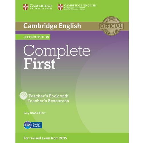 Complete First 2nd Edition. Książka Nauczyciela + CD, oprawa miękka