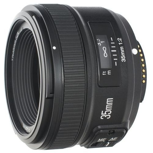 yn 35 mm f/2.0 n (mocowanie nikon f) marki Yongnuo