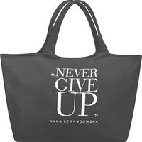 Torba na zakupy Never Give Up healthy plan by ann szara (TKSN001)