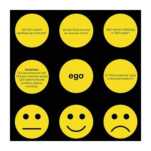 Gra Ego Emocje +DARMOWA DOSTAWA przy płatności KUP Z TWISTO (5900511017779)