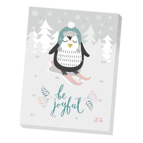 Kalendarz adwentowy z herbatą Be Joyful - 24 rodzaje wysokiej jakości herbat smakowych