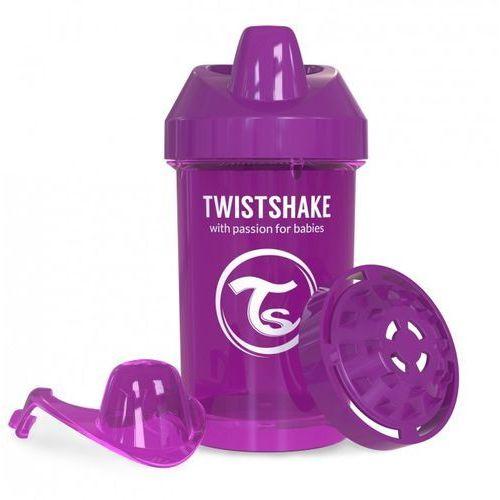 Twistshake - kubek niekapek z mikserem do owoców, fioletowy 300ml