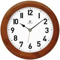 Lowell zegar ścienny 21034N, ciemnobrązowy (8008457010360)