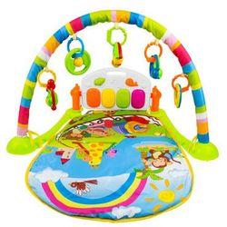 Interaktywna mata edukacyjna z zabawkami + pianino bm6016-2 marki Ibaby