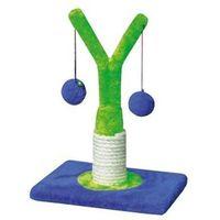 Yarro Drapak Mini Drzewko zielono-niebieski 18x18x32cm [Y1160], Yarro Drapak Mini Drzewko zielono-niebieski 18x18x