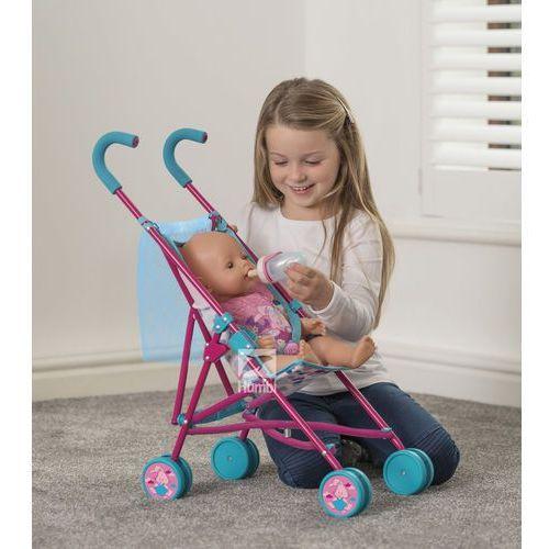 Hti baby born wózek spacerówka dla lalek z siatką 1423489