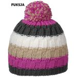 Viking Damska czapka z polarem 0136 fuksja