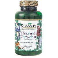 Tabletki Swanson Children's Chewable (mutiwitaminy dla dzieci) - 120 tabletek