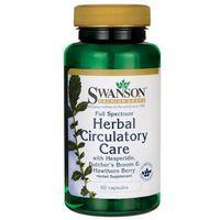 Kapsułki Swanson Full Spectrum Herbal Circulatory Care (Ziołowe wsparcie układu krążenia) 60 kaps.