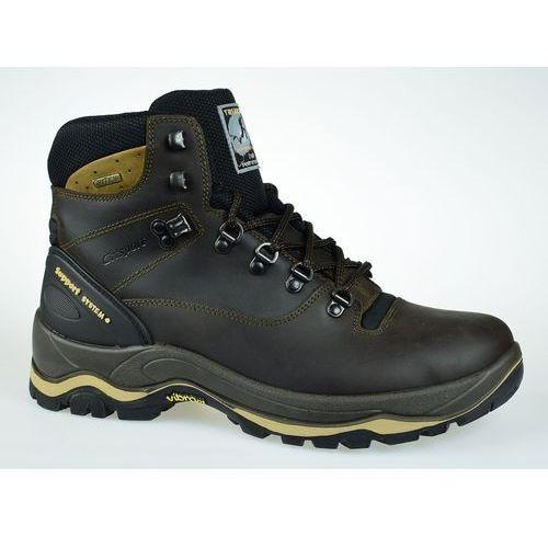 Męskie buty marrone dakar trekking 11205d15g 43 marki Grisport