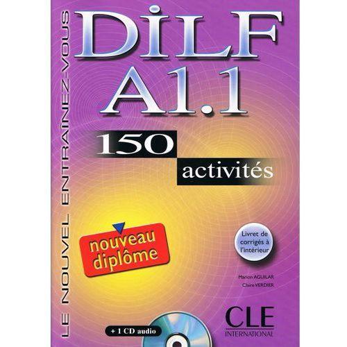 DILF A1.1 150 activites + Cd, oprawa miękka