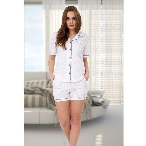 M-max Piżama damska abigail 525 biały/melanż