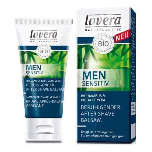 Lavera men sensitiv kojący balsam po goleniu (calming after shave balm bio bamboo and bio aloe vera) 50 ml